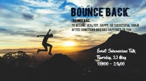Subconscious Talk Group Event: Bounce Back @ Futura House