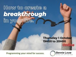How to create a breakthrough in your life @ Futura House