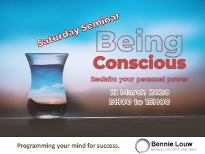 Saturday Seminar: Being Conscious - 21 March 2020 @ Futura House