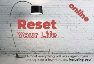 Online Meditation: Reset - Practical steps to resetting your life and getting on track @ Online